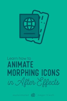 Learn how to animate eye-catching morphing transitions between icons to tell a mini story. Motion Logo, Motion Poster, Graphic Design Tutorials, Graphic Design Posters, Info Graphic Design, Design 3d, Design Trends, Adobe After Effects Tutorials, Learn Animation