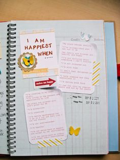 Fabulous Adventures of Listgirl: 30 Days of Lists | Day 2: I Am Happiest When