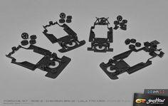 Ghost Trax - Renn Chassis für Fly und GB Track Slotcars - Ghost Trax - Renn Chassis für Fly und GB Track Slotcars #slotcar #autorennbahn