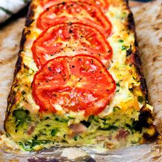 Ingredients 1/4 cup of vegetable oil 1/4 cup of milk 500 grams of grated zucchini 150 grams of grated parmesan 1 onion diced 150grams of bac...