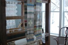 weaving weather by Avalanche Looms, via Flickr