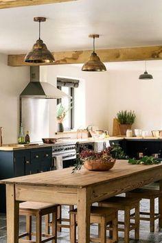 Devol Kitchens, Shaker Style Kitchens, Shaker Kitchen, New Kitchen, Home Kitchens, Kitchen Ideas, Awesome Kitchen, Eat In Kitchen Table, Green Kitchen