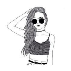 Sketched Girls