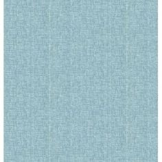 """Brewster Home Fashions Oasis 33' x 20.5"""" Linen Wallpaper Color: Turquoise"""