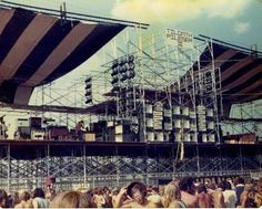 vintage everyday: Vintage Photos of The Ozark Music Festival in 1974
