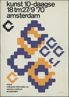 Ben Bos, Kunst 10-daagse, 1970