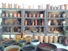 terracotta galery at Litbang, Plered, Purwaarta, Indonesia