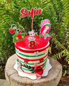 Bolo da Moranguinho: 80 ideias delicadas e tutoriais de como fazer Cake, Pastel, Christmas Ornaments, Holiday Decor, Strawberry Shortcake Birthday, Pastry Art, Tutorials, Ideas, Cakes