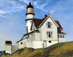 """Captain Upton's House"". Edward Hopper. 1927."