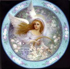 Angel in garden by Fantasy-fairy-angel on DeviantArt * Angel Fantasy Myth Mythical Mystical Legend Wings Feathers Faith Valkyrie Odin God Norse Death Dark Light Engel d'ange di angelo de Ángel Ангел anděl wróżka de anjo angyal