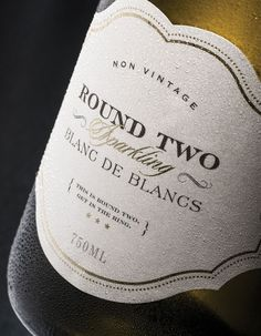 Round Two Sparkling Wine packaging | thedieline
