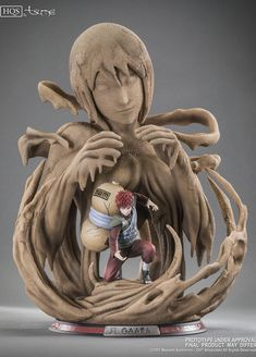 "Jetzt kaufen bei Hadesflamme - Gaara "" A father's hope, a mother's love"" HQS by TSUME Art - Naruto Shippuden - anime figur shop Naruto Uzumaki, Anime Naruto, Otaku Anime, Art Naruto, Anime Toys, Madara Uchiha, Boruto, Shikamaru, Gaara"