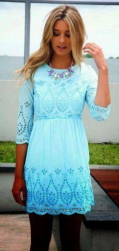 Saboskirt Mint Summer Dress