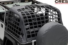 Smittybilt 561035 CRES - Cargo Restraint System in Black for Jeep Wrangler TJ 2006 Jeep Wrangler, Jeep Tj, Jeep Wrangler Unlimited, Jeep Truck, Jeep Mods, Jeep Wrangler Accessories, Jeep Accessories, Tailgate Bar, Jeep Sahara