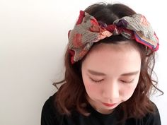 【STAFF加藤】スカーフアレンジ①|Kastane Kastane SHINJUKU店 KATO|カスタネ|PAL SHOP BLOG|パル公式ショップブログ Scarf Styles, Hair Styles, Hair Arrange, Bandana Hairstyles, Head Accessories, Turban, Hair Band, Headbands, Scarves