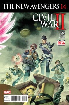 New Avengers Vol. 4 # 14 by Julian Totino Tedesco