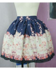 Dream of Lolita Babyssb Unicorn Skirt #lolitadress  #skirt