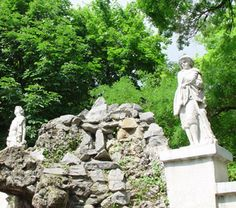 Statues in Gradina Mare, Braila Places Worth Visiting, Places To Visit, Romania, Statues, Garden Sculpture, Beautiful Places, Castle, Country, Outdoor Decor