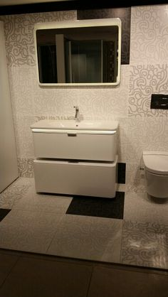 Vitra nest washbasin unit with led basin designed by Pentagon designs Corner Sink Bathroom, Bathroom Sink Cabinets, Bathroom Furniture, Vitra Bathrooms, Pentagon Design, Potty Chair, Panton Chair, Basin Design, Modern Bathroom Design
