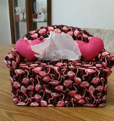 Flamingo kleenex box holder ♡♡