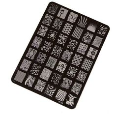 Koly® DIY Nail Stamping Printing Plate Manicure Nail Art Decor Image Stamps Plate: Amazon.co.uk: Beauty