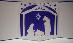 Free Nativity Pop Up Card SVG Files