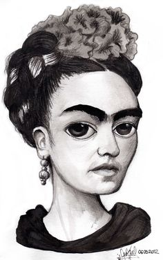 FRIDA KAHLO by Elluk Vega [06052012]
