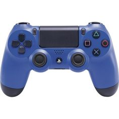 Sony - DUALSHOCK 4 Wireless Controller for PlayStation 4 - Wave Blue - Front Zoom