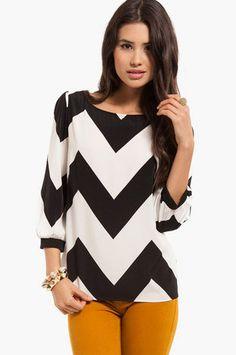 Wide Waves Top at www.tobi.com #Fashion