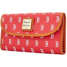 Women's Dooney & Bourke Boston Red Sox Continental Clutch