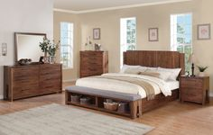 Riverside Furniture Terra Vista Collection Panel Bed Set | from hayneedle.com