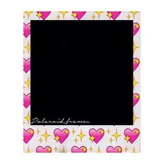 Marco Polaroid, Polaroid Frame, Cute Frames, Picture Frames, Polaroid Template, Note Memo, Photo Collage Template, Instagram Frame, Note Paper