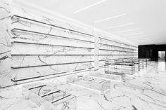 Concept Store Yves Saint Laurent a Parigi, Hedi Slimane, 2013