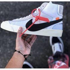 OFF-White X Nike - Promocao OFF White X Nike Blazer Mid 24 OW Branco 75d370b8373