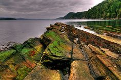 a guide to Free-camping and Bushcraft on the Gulf Islands of British Columbia (Hornby Island, Galiano Island, Saturna Island) Great Places, Places To Visit, O Canada, San Juan Islands, Vancouver Island, Honeymoon Destinations, British Columbia, Kayaking, Scenery