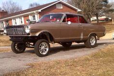 64 Chevy Nova gasser