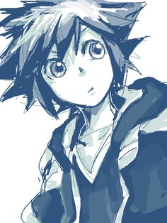 """Sora's Face: """"What just happened?"""""""