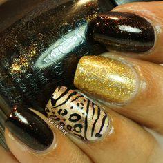 NailaDay: Salon Perfect Brown Sugar Zoo Skittlette Nails Inspiration, Brown Sugar, Salons, Rings For Men, Nail Polish, Nail Art, Beauty, Lounges, Men Rings