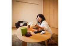 Miho Aikawa Photography - fascinating series on Dinner in Tokyo and in New York