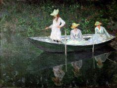 Monet, La barca a Giverny, 1887