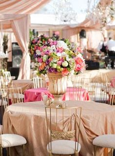 French Themed Event Gorgeous Table