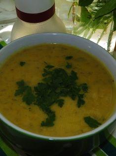 THERMOMIX : Zupa ogórkowa gotowana na wywarze z boczku