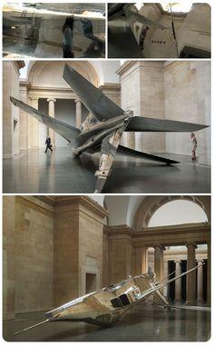 Creatures of Power and Intrigue, Artist Spotlight: Fiona Banner  Aircraft Art Installation Tate Modern Art Britain