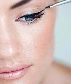 How to Do Winged Eyeliner Like a Pro | You don't have to be a professional makeup artist to learn how to do winged eyeliner. Here, a makeup artist breaks down the steps.