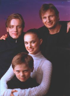 Ewan McGregor, Liam Neeson, Natalie Portman, and Jake Lloyd