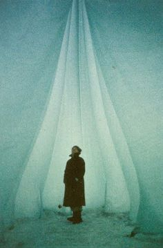 heinz isler - shape experiments in ice Scenic Photography, Color Photography, Shell Structure, Tensile Structures, Brutalist, Art And Architecture, Pretty Pictures, Installation Art, Pavilion