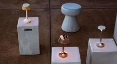 Bon Jour Unplugged lamp | Table | Flos Cordless Table Lamps, Lamp Table, Interior Lighting, Lighting Design, Diffused Light, Light Fittings, Lamp Design, Chrome, Indoor