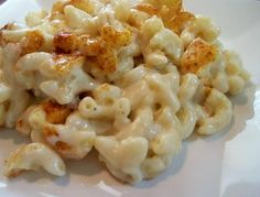 Smokehouse Mac & Cheese - the gouda is what makes this special.