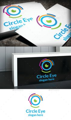 Circle Eye Logo — Photoshop PSD #cycle #circle • Available here → https://graphicriver.net/item/circle-eye-logo/11189988?ref=pxcr