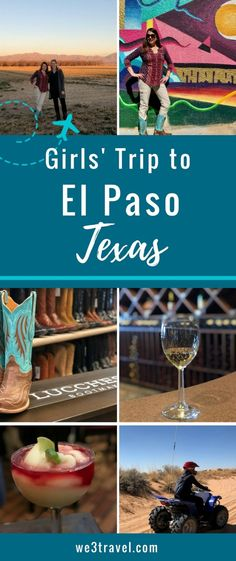 El Paso Texas girls trip with things to do in El Paso, El Paso restaurants and where to stay in El Paso on a Texas getaway Texas Travel, California Travel, Travel Usa, Texas Tourism, Travel Tips, Texas Getaways, Texas Girls, Family Travel, Family Vacations
